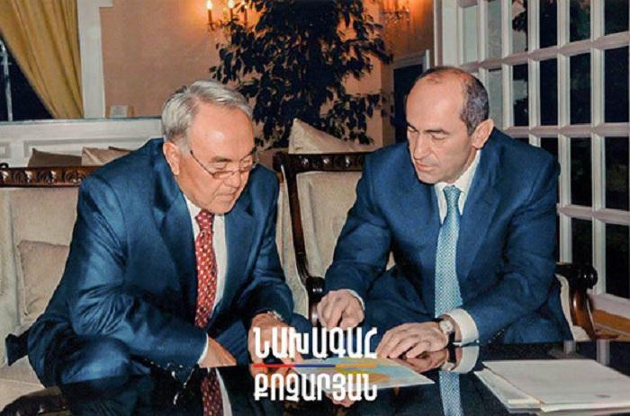 Nazarbayev Paşinyanı saymadı, Koçaryana məktub göndərdi