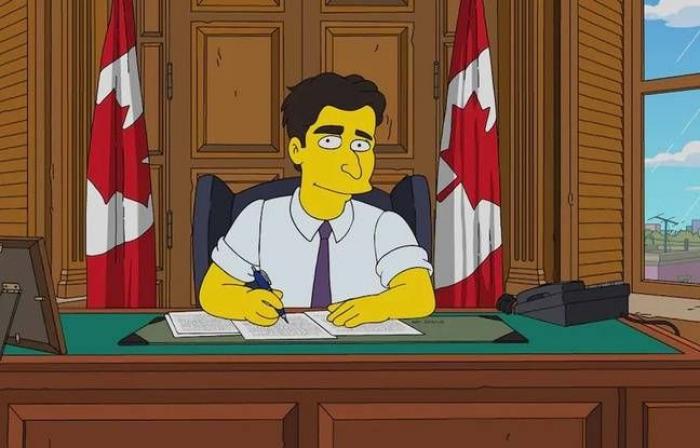 Trudeau fait ses débuts dans un épisode des Simpson