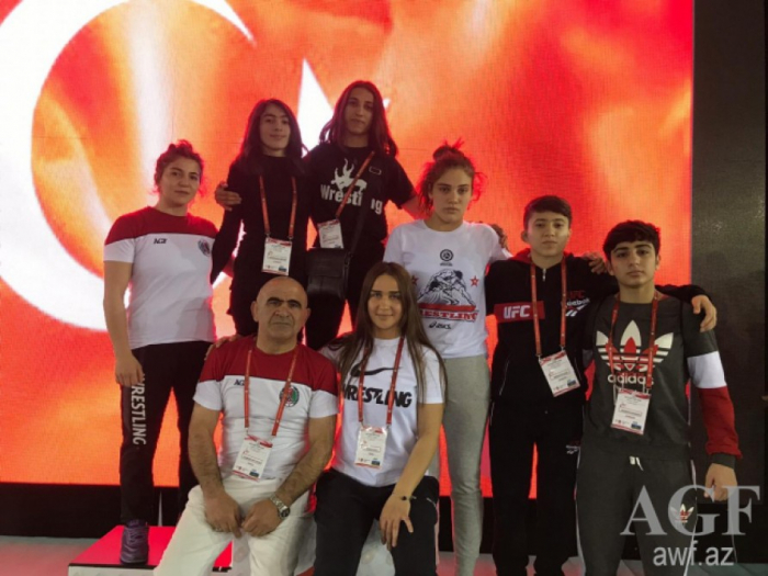 Azerbaijani wrestlers bring home eleven medals from Antalya tournament