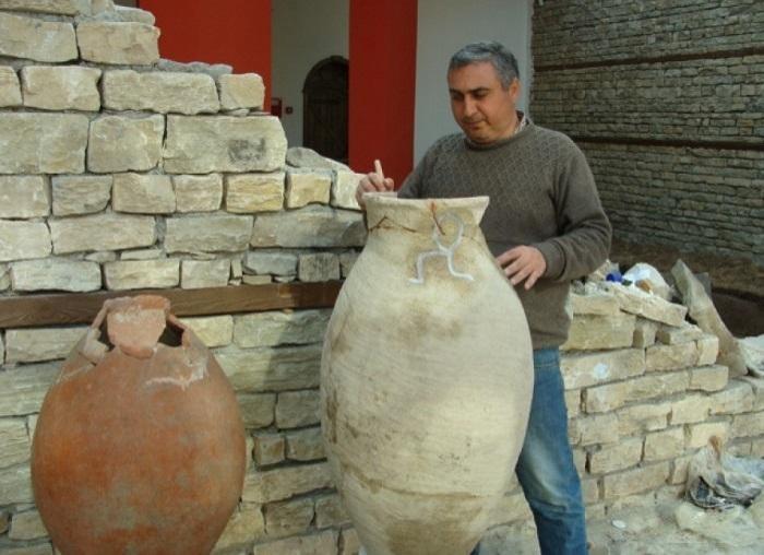 Şamaxıda qədim türk tayfalarına aid küplər tapılıb