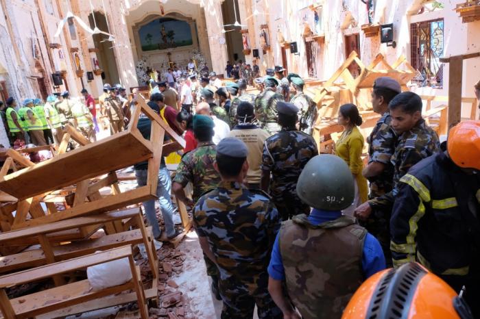 Attentats au Sri Lanka:   treize hommes arrêtés