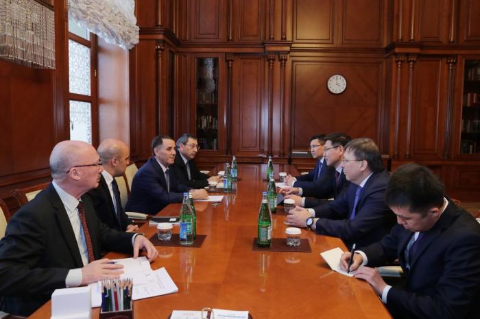 Prime Minister Novruz Mammadov: There is good potential for developing Azerbaijan-Kazakhstan relations