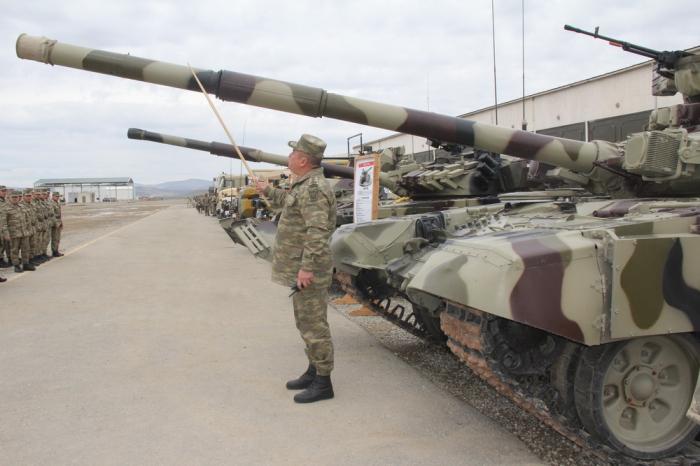 Revisaron la técnica militar que participará en los ejercicios-  Fotos,Video