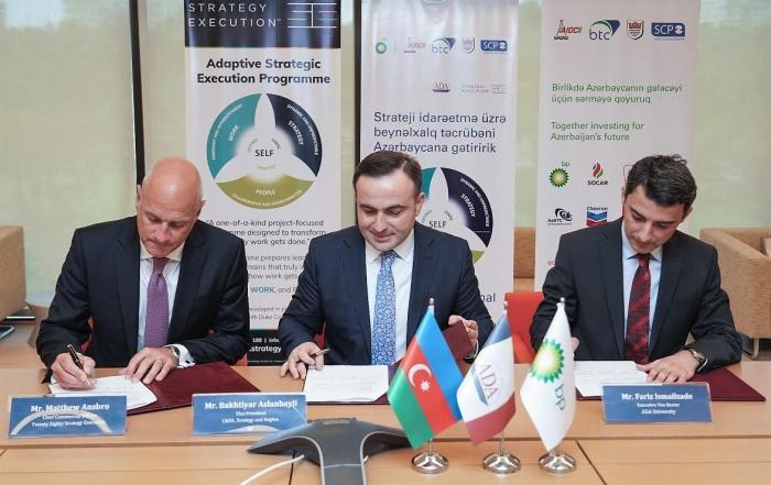 BP and partners bring international strategic executive expertise to Azerbaijan