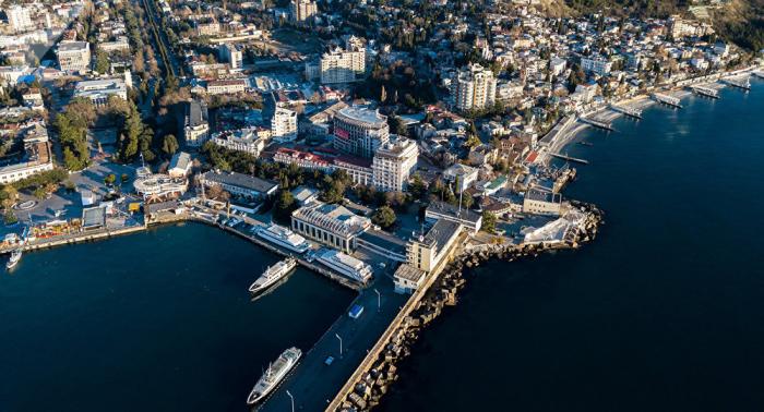 Una delegación de Siria llega al Foro de Yalta en Crimea