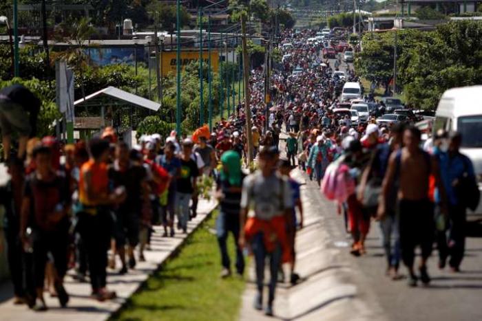 Un millier de migrants cubains à la frontière du Mexique avec les Etats-Unis