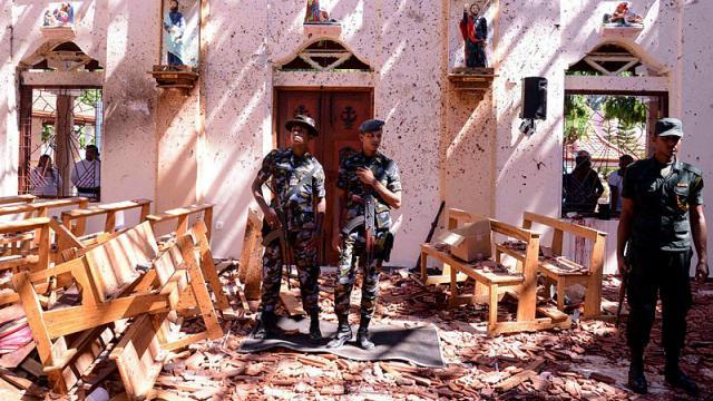 Sri Lanka:   les attentats causés par un mouvement islamiste local