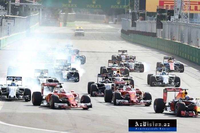 """Bakıda """"Formula 1"""" yarışlarına start verilir"""