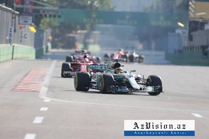 Formule1:  les premiers essais libres du GP d'Azerbaïdjan sont lancés
