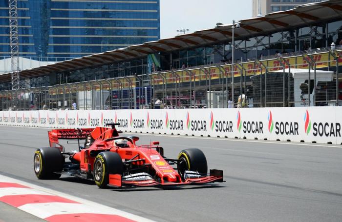 """Formula 1""də sıralama turu"
