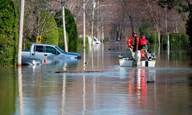 Canada: extreme floods show climate threat as experts warn of further tumult
