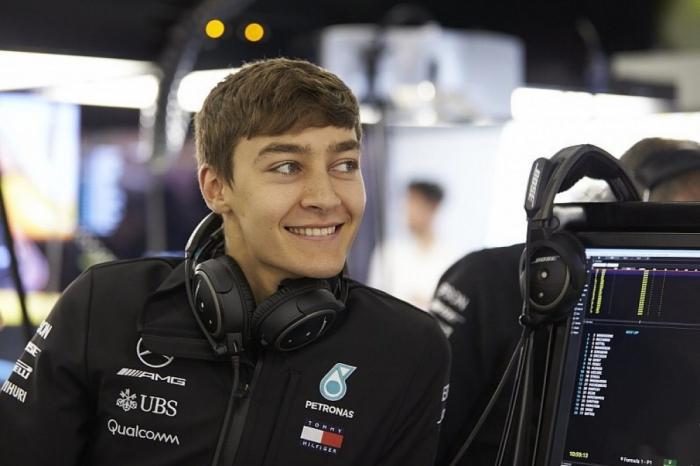 Russell, enfermo en la víspera del GP de Azerbaiyán