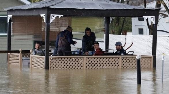 فيضانات شرق كندا والجيش يقدم مساعدة لحكومتي مقاطعتين