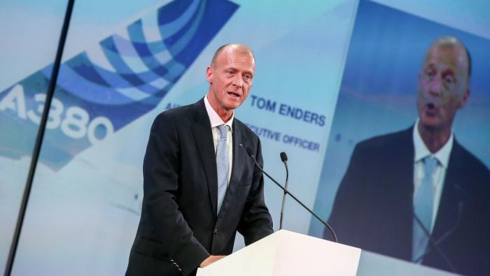 Airbus :   un «parachute doré» de 36,8 M€ pour Tom Enders