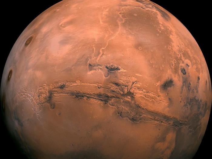 Un premier tremblement martien détecté sur la planète rouge