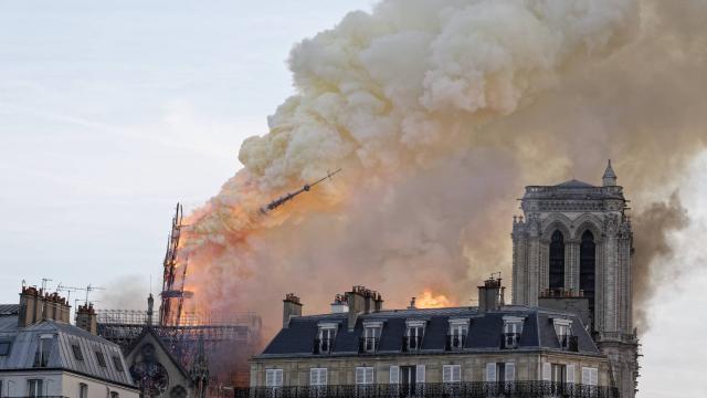 Notre-Dame:  lancement d