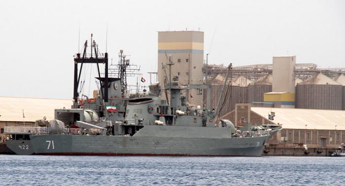 Dos lanchas lanzamisiles de Irán llegan en visita al puerto kazajo de Aktau