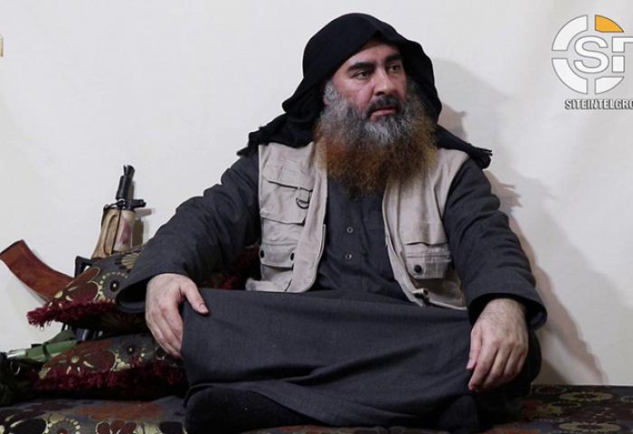 İŞİD liderinin 5 ildən sonra videosu yayıldı