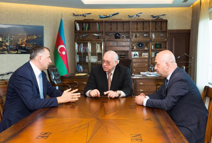 AZAL president meets mayor of Batumi