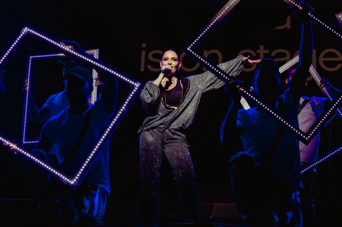 Rilaya and Jessie J perform for fans of F1 Azerbaijan Grand Prix 2019