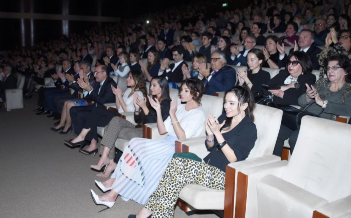 First VP attends concert of famous pianist Denis Matsuev in Heydar Aliyev Palace