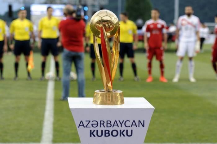 Azərbaycan Kuboku: 1/2 finalın təyinatları