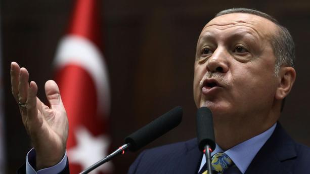"""Erdogan: """"Sans la Turquie, le projet de chasseurs F-35 est voué à l"""