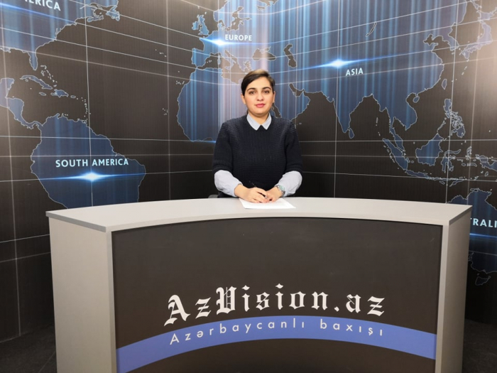 AzVision TV releases new edition of news in English for April 25 -  VIDEO