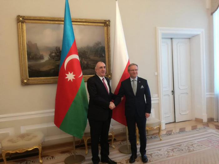 Mammadyarov meets with Secretary of State of Poland
