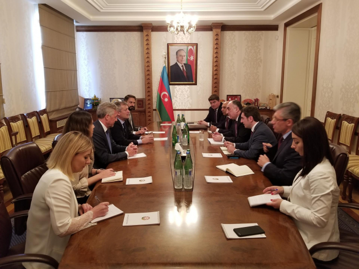 Mammadyarov meets with President of Chamber of Deputies of Argentine National Congress