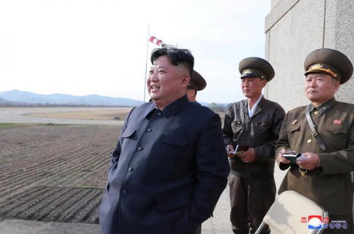 N.Korea urges Trump to drop Pompeo from talks; U.S. plays down weapons test