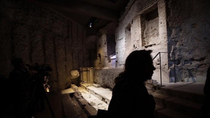 Reabren al público el primer palacio de Nerón, construido hace 2.000 años
