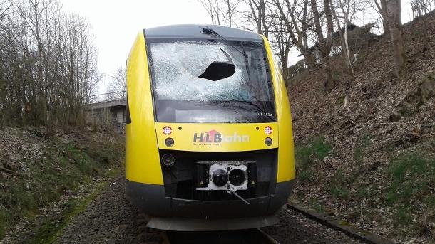 Gullydeckel-Attacke: Lokführer steht selbst unter Verdacht
