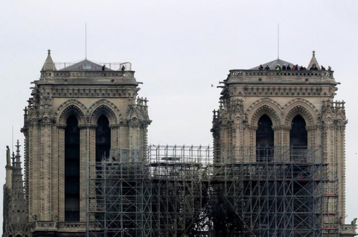 Architect: Notre Dame far from safe for restoration work