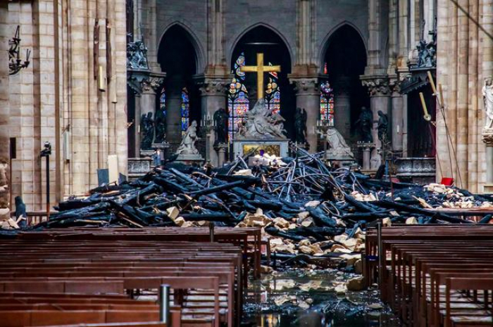 Notre Dame fire cause may have been electrical – official