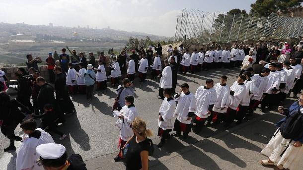 Nicht alle Gaza-Christen dürfen zum Beten nach Jerusalem