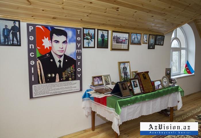 Şəhid Pəncəli Teymurovun ev muzeyi - FOTOREPORTAJ