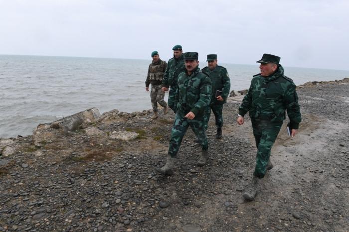 Elçin Quliyev Azərbaycan-Rusiya sərhədində - FOTOLAR