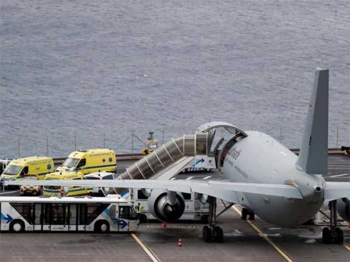 German plane arrives in Madeira to take home bus crash survivors