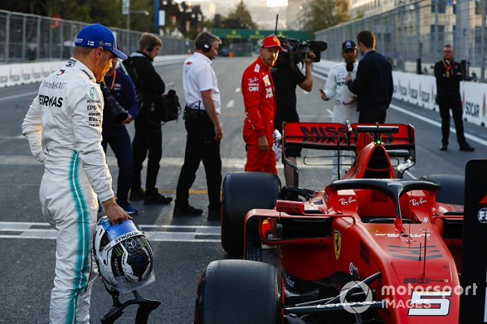 "Ferrari se vio frustrado en la Q3 por un ""doble golpe"", dice Wolff"