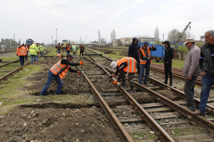 Overhaul of tracks, switches at Azerbaijan