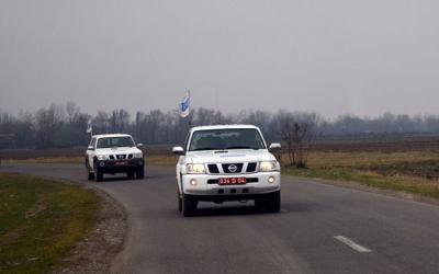 المراقبة في الحدود بين أرمينيا وأذربيجان قد عقدت