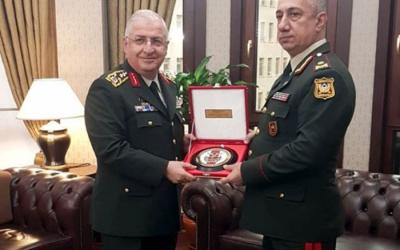 الجنرال صلاحوف يعقد اجتماعات في تركيا - صور
