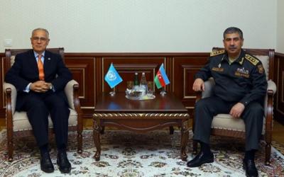التعاون العسكري لأذربيجان تمت مناقشة في إطار الأمم المتحدة