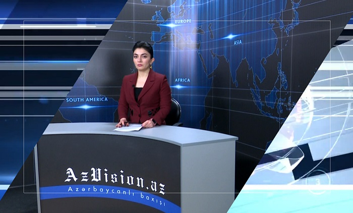 AzVision TV releases new edition of news in English for April 17 -  VIDEO