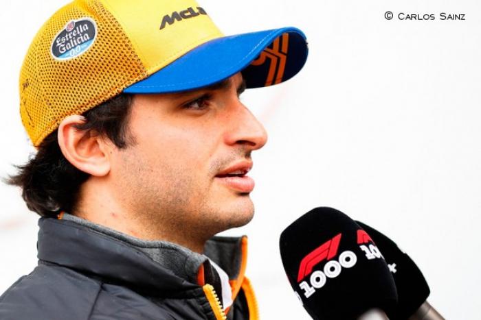 """Sainz:  """"Nuestro coche es capaz de puntuar, por eso quiero ir a Bakú"""""""