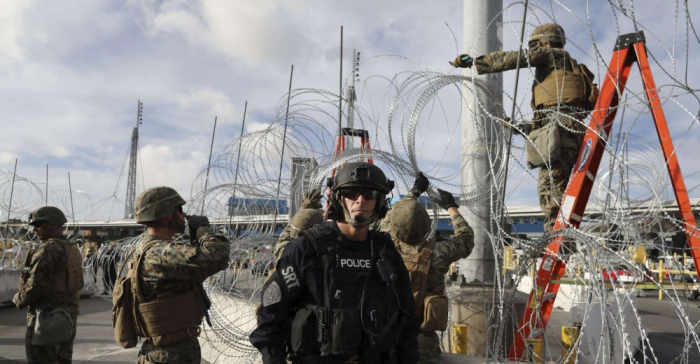 Trump envoie des «soldats armés» à la frontière mexicaine