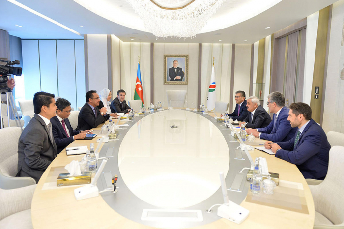 SOCAR, Petronas discuss matters of partnership