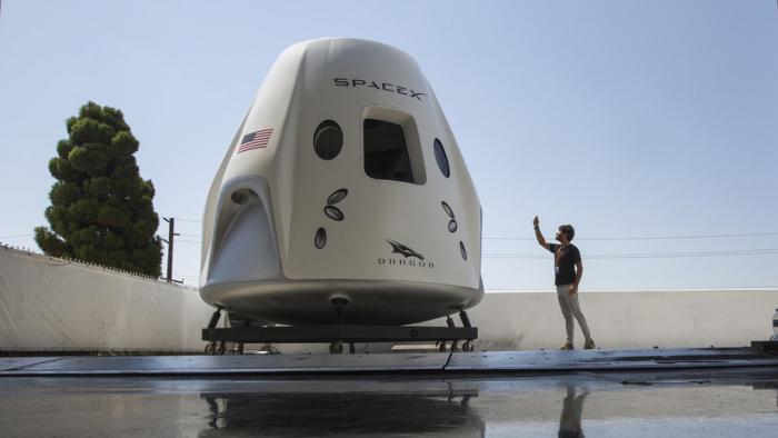 VIDEO  : Publican las supuestas imágenes de la explosión del cohete Crew Dragon de SpaceX
