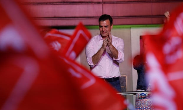 Socialists win Spain election; far-right party to make debut in parliament